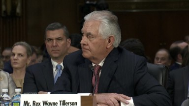 Tillerson: 'I do not recall' Exxon subsidiary having sales in Iran