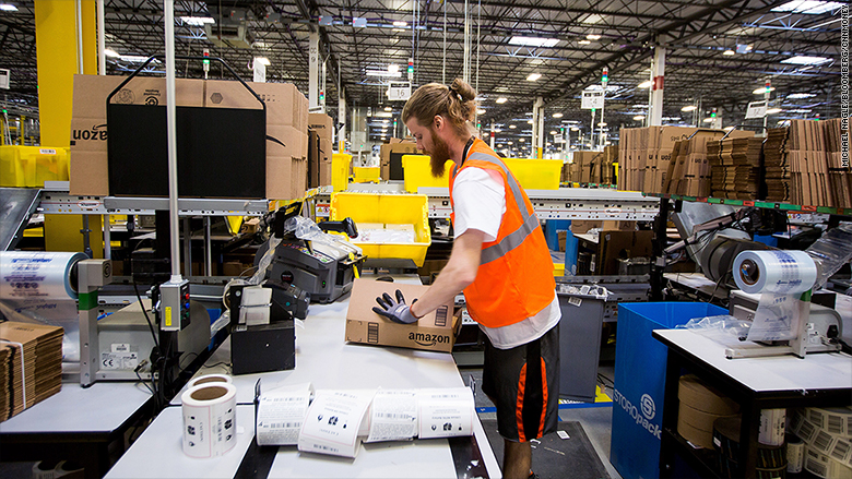 Amazon Says it will Create 100000 US Jobs