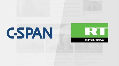 C-SPAN's online feed interrupted by Russia Today