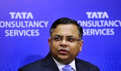 India's Tata Group names software chief as new chairman