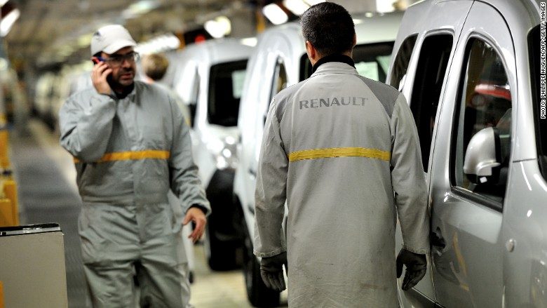 Renault Accused of Cheating Emissions Tests
