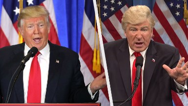 Alec Baldwin returns to host an 'SNL' that he and Trump have made great again