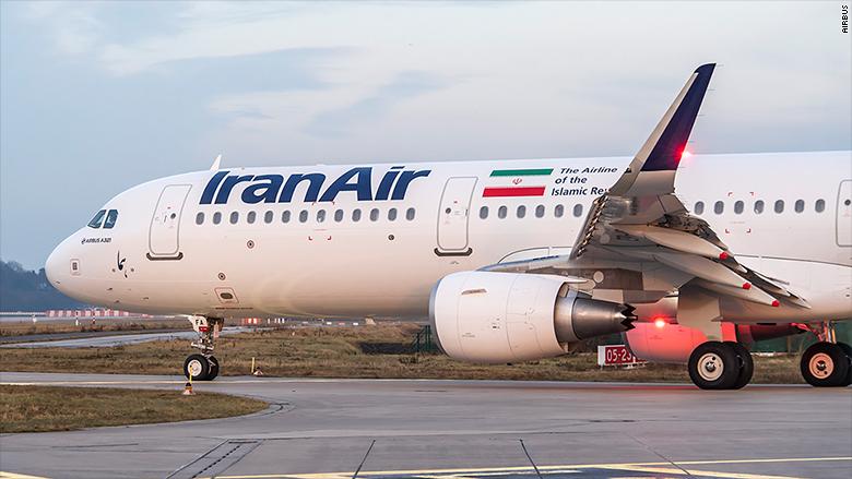 iran airbus a321