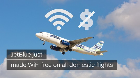Jetblue wifi