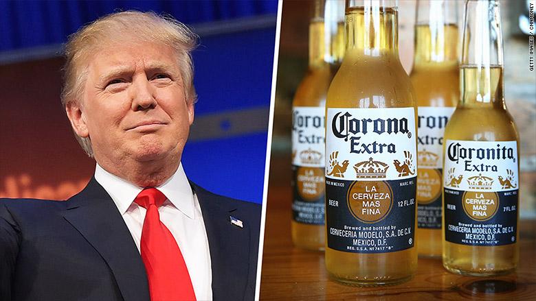 corona trump mexico