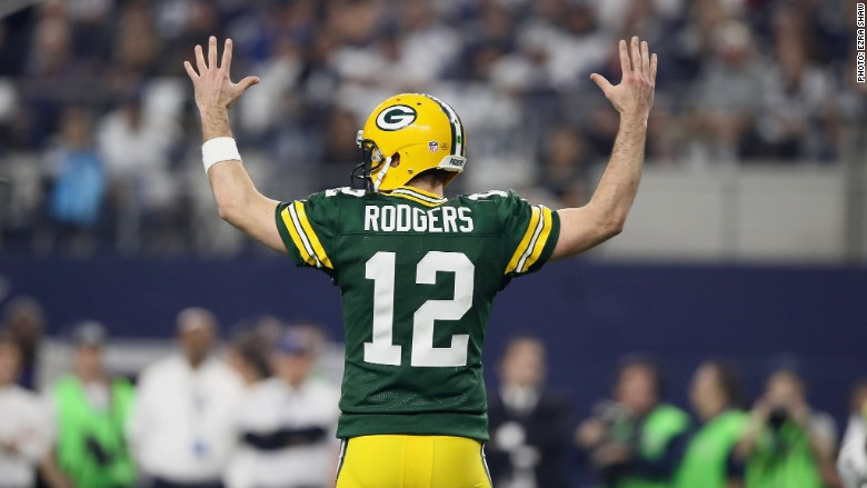 Packers Cowboys Aaron Rodgers