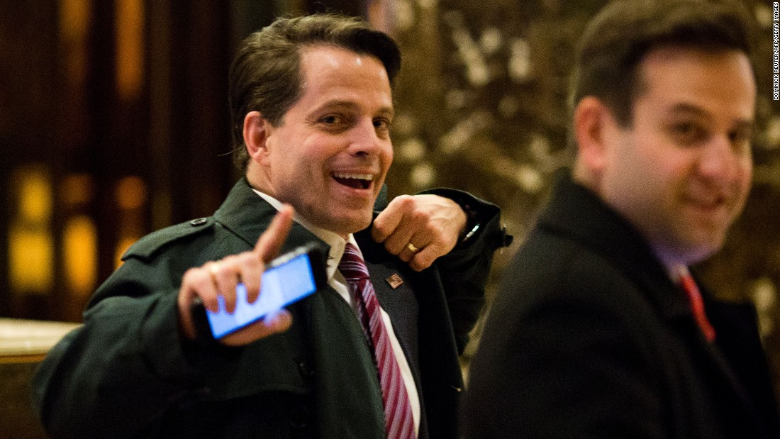 Scaramucci sorry for calling Trump a 'hack' with a 'big mouth' in 2015