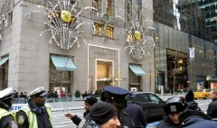 Tiffany has blue Christmas due to Trump Tower traffic