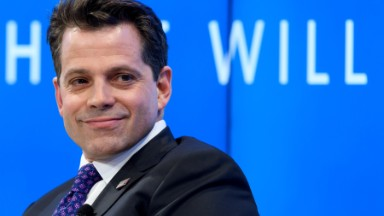 Scaramucci announces Sanders promotion