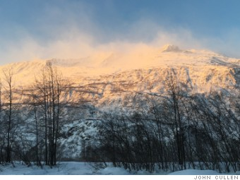 valdez alaska mountain view