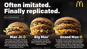 McDonald's tweaks the Big Mac