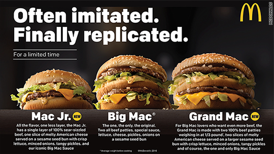 McDonald's just tweaked the Big Mac