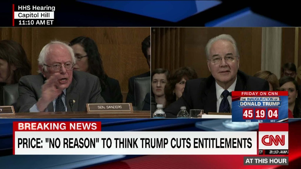 Sanders to HHS pick: 'We are not a compassionate society'