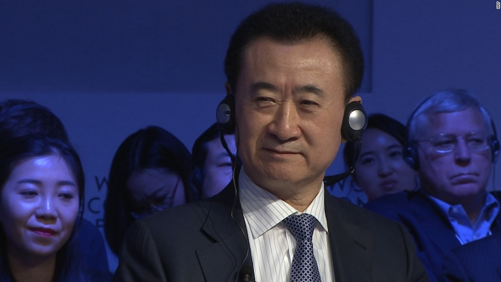 China's richest man wants a major Hollywood studio