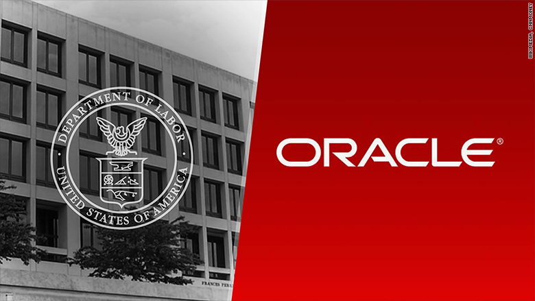 oracle us dept of labor