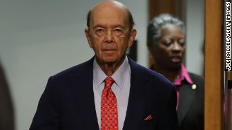 Wilbur Ross commerce hearing