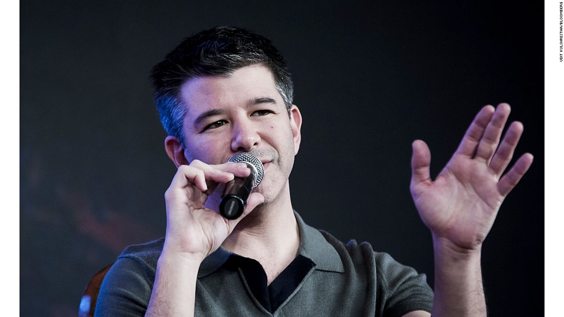 Uber CEO defends Trump relationship to employees