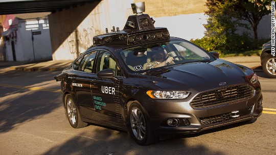 Uber's self-driving cars are back on the road after an accident