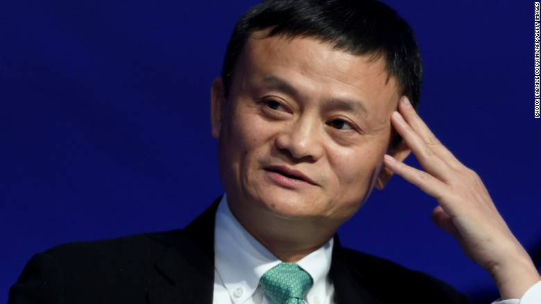 Jack Ma Davos