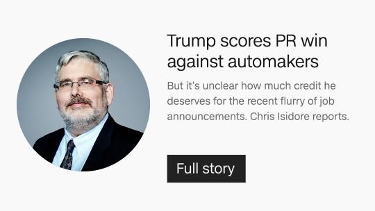 Trump Automakers