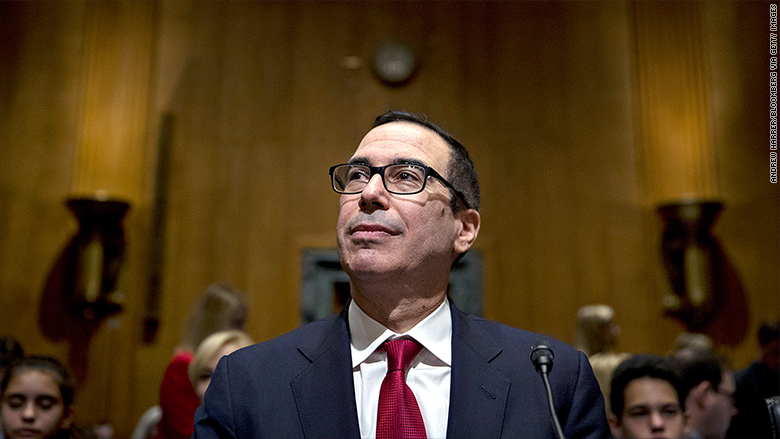 Trump Treasury pick: 'I have been maligned'
