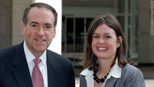 Mike Huckabee's daughter gets White House job