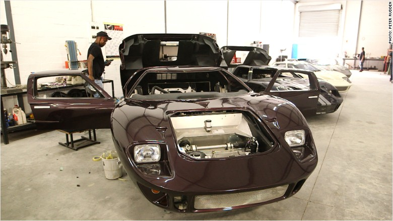 The company bringing Ford's original GT40 back to life