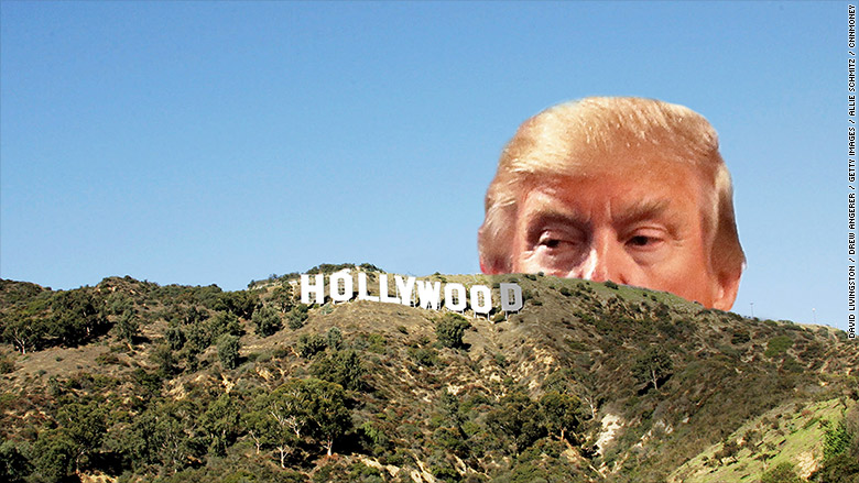 donald trump hollywood