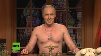 On 'SNL,' Putin brags about buying America