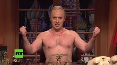 'Saturday Night Live' has a shirtless Putin address America
