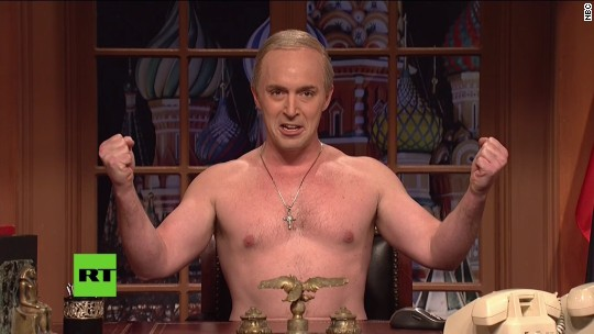 'SNL:' Shirtless Putin addresses America
