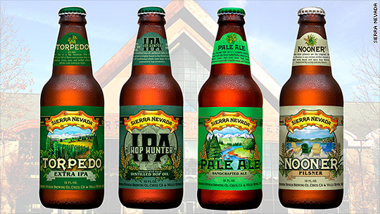 Sierra Nevada beer recalled over chipped glass