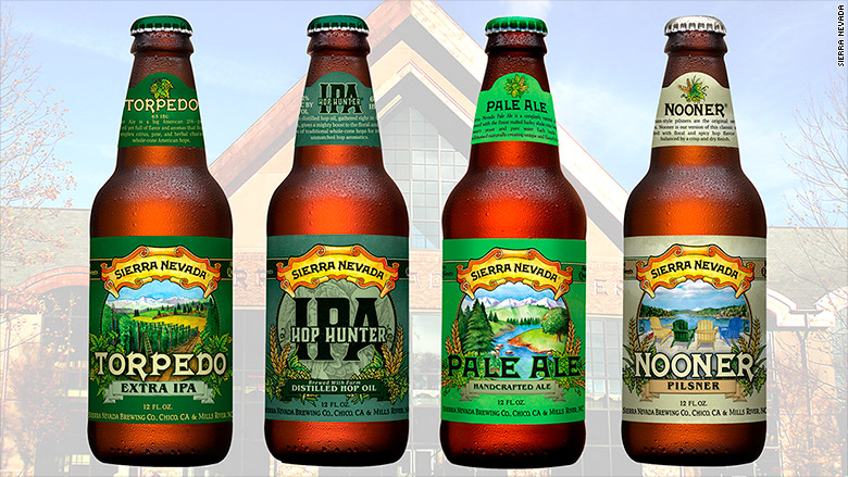 sierra nevada mills river bottles