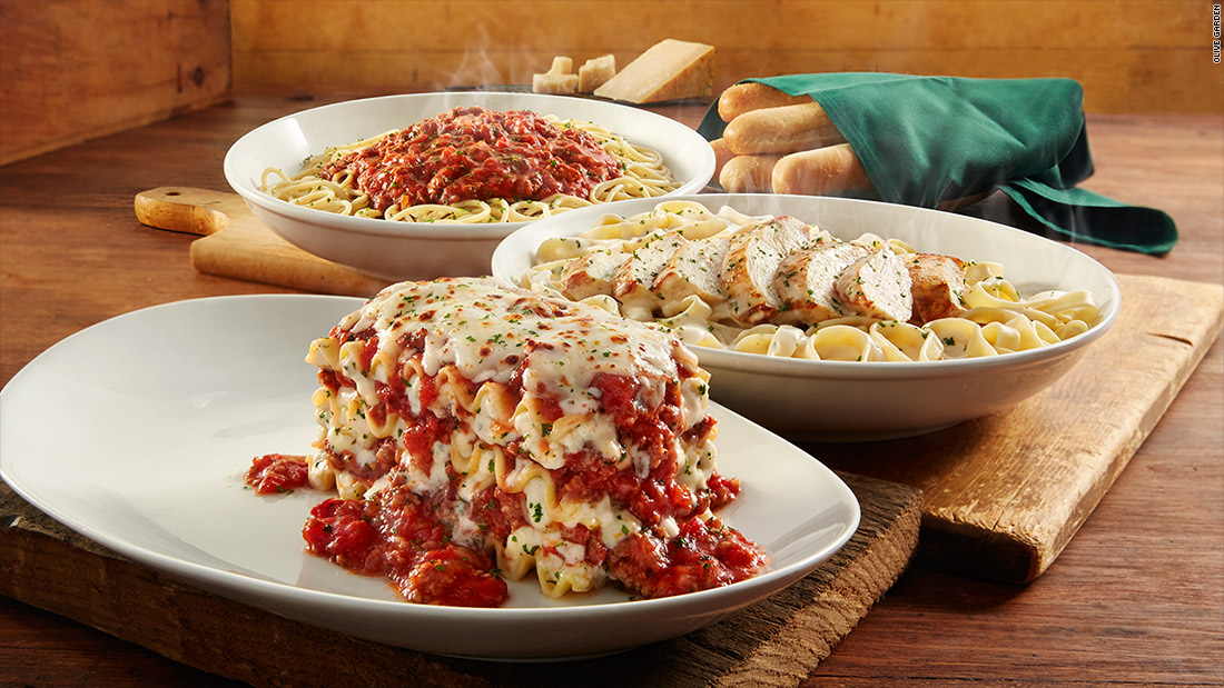 Olive Garden unveils its latest all you can eat deal Jan 23 2017