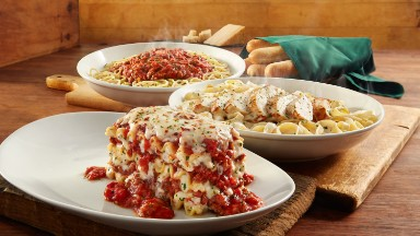 Olive Garden is still a hit with pasta lovers