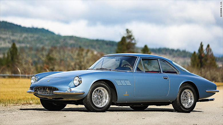 gooding auction scottsdale 1965 ferrari