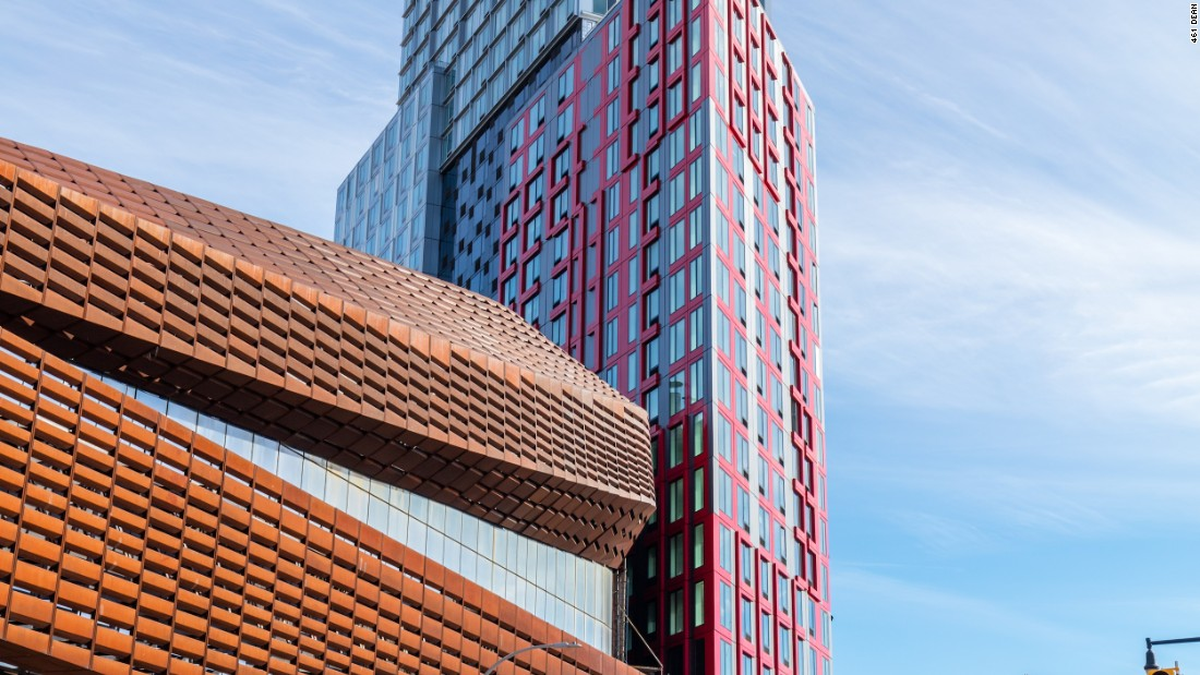 This Brooklyn apartment building fits together like puzzle pieces