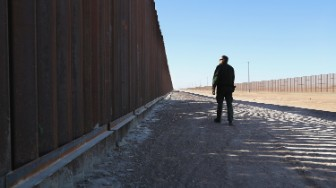 border fence mexico trump