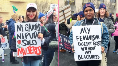 It's a long march to equality for women of color