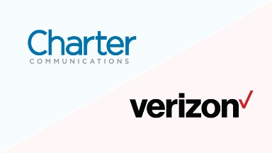 Charter shares up on report of possible Verizon takeover