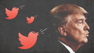 Trump hasn't bashed the media on Twitter in 7 days