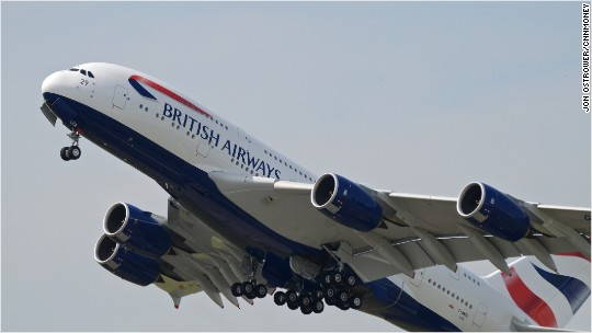 British Airways struggles to recover from outage