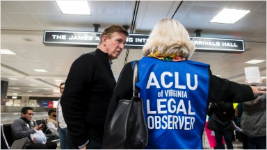 ACLU racks up $24.1 million in donations over weekend