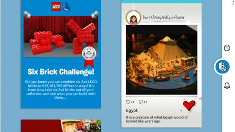 lego life social network
