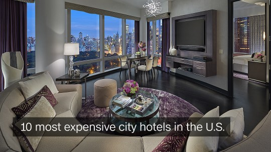 Expensive Hotels