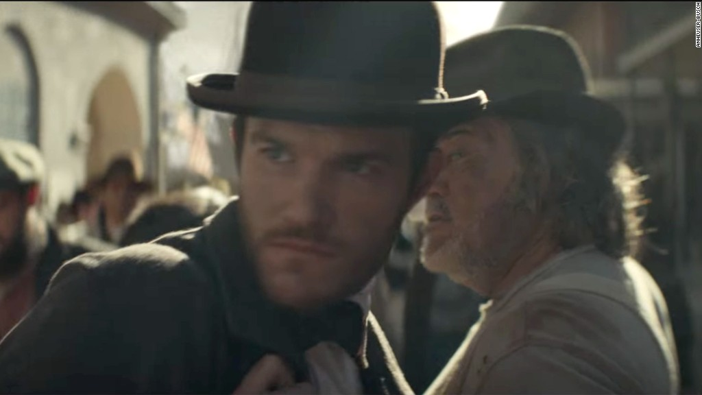 Budweiser's Super Bowl ad takes on immigration