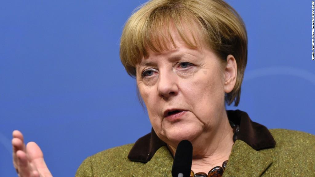 Trump vs. Merkel