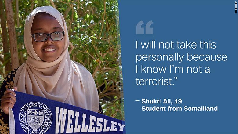 wellesley student somaliland shukri ali