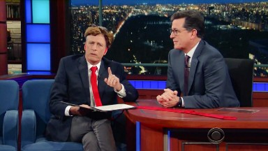 Stephen Colbert to hold 'Daily Show' reunion on 'Late Show' next week
