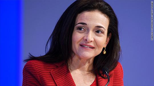 Sheryl Sandberg kicks off her next movement